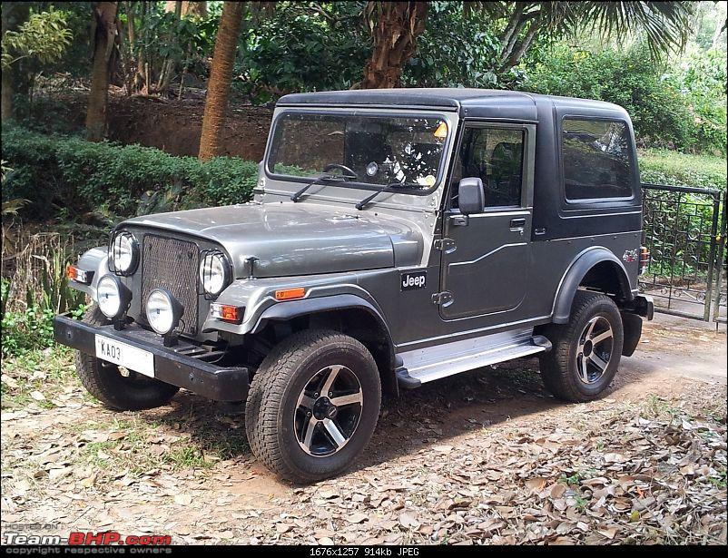 Call of the wild - Mahindra Thar CRDe-jeep-front-left.jpg