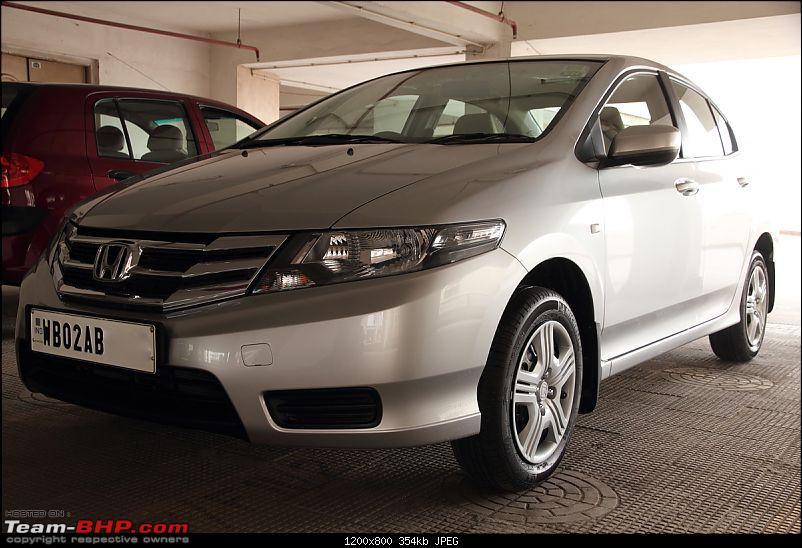 My First Honda : 2012 City E-MT-5cityfront34.jpg