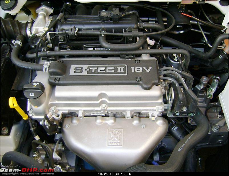 Stopped driving, started sailing - Chevy Sail UVA - sailed 1,00,000 kms now-engine.jpg