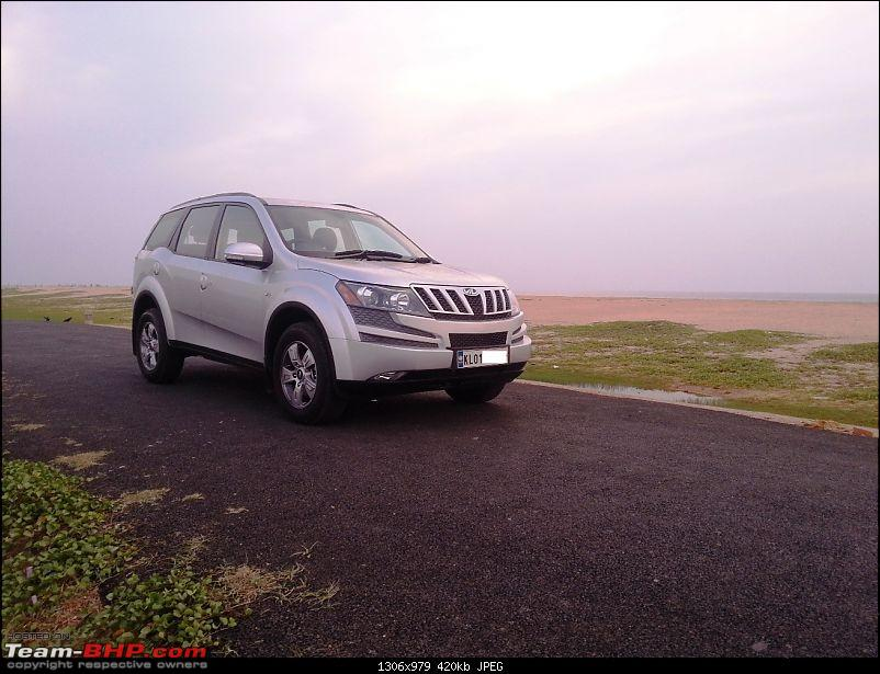 And then a Mahindra XUV5OO was born! The Columbus was born!-20121215_174722.jpg
