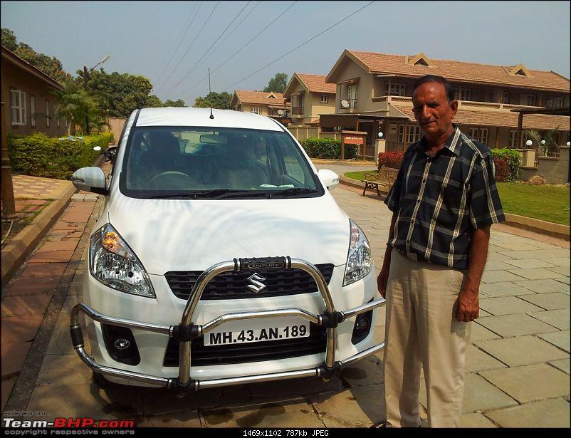 Joy with my Toy : Maruti Ertiga VXi Initial Ownership Report-20130211_120033.jpg