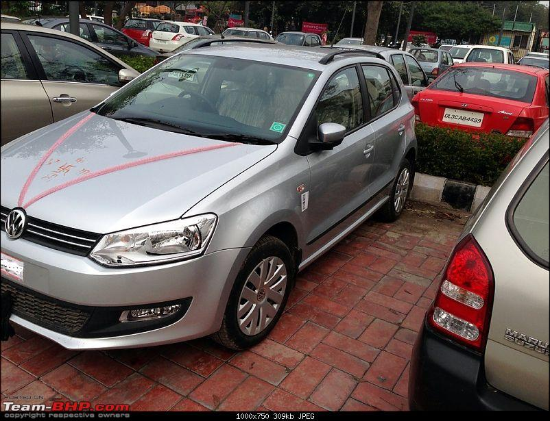 The Silver Arrow: New VW Polo 1.2 Petrol CL-img_1470.jpg