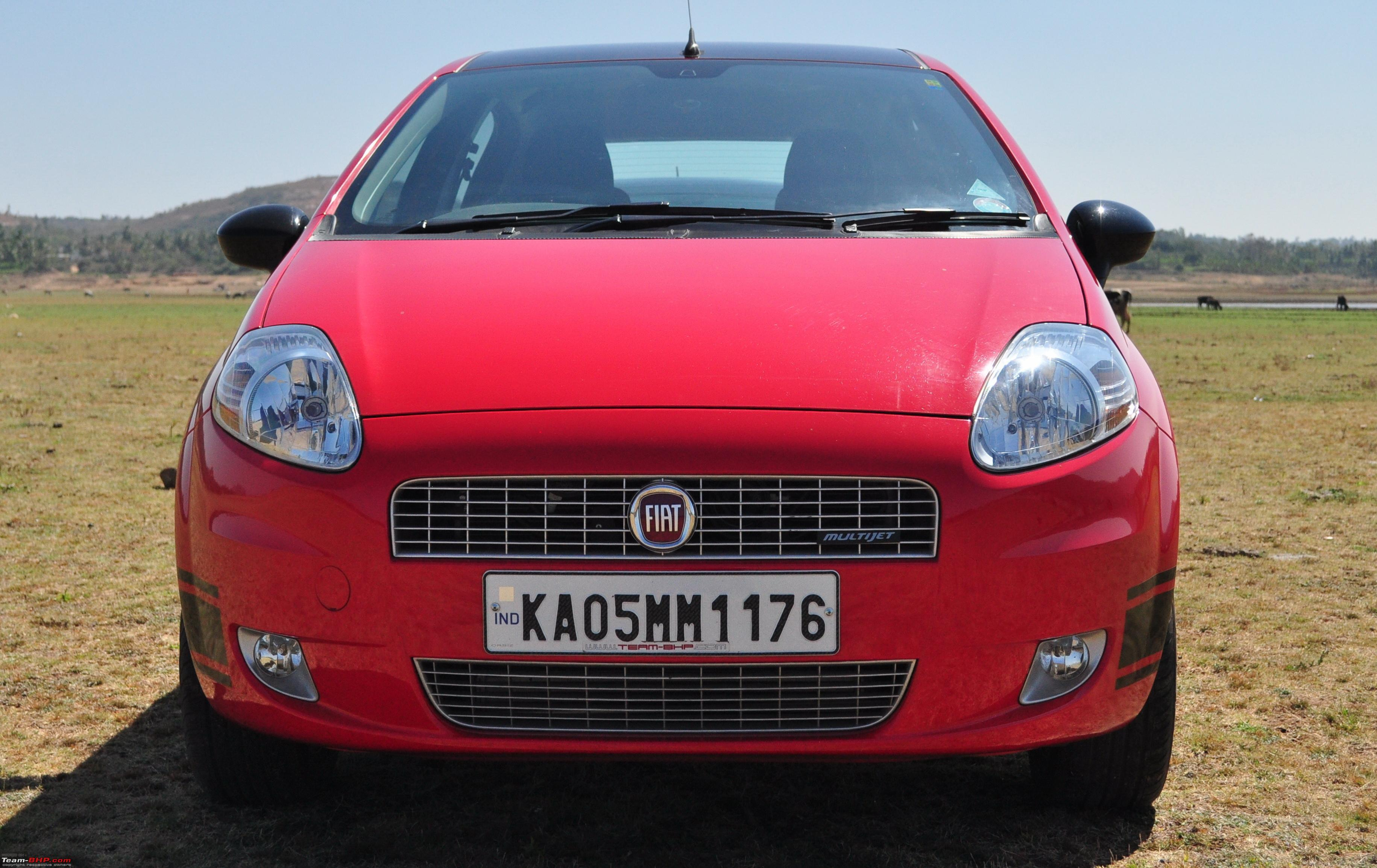 The Red Rocket Fiat Grande Punto Sport Update Interiors Now In Karlsson Leather Page 15 Team Bhp