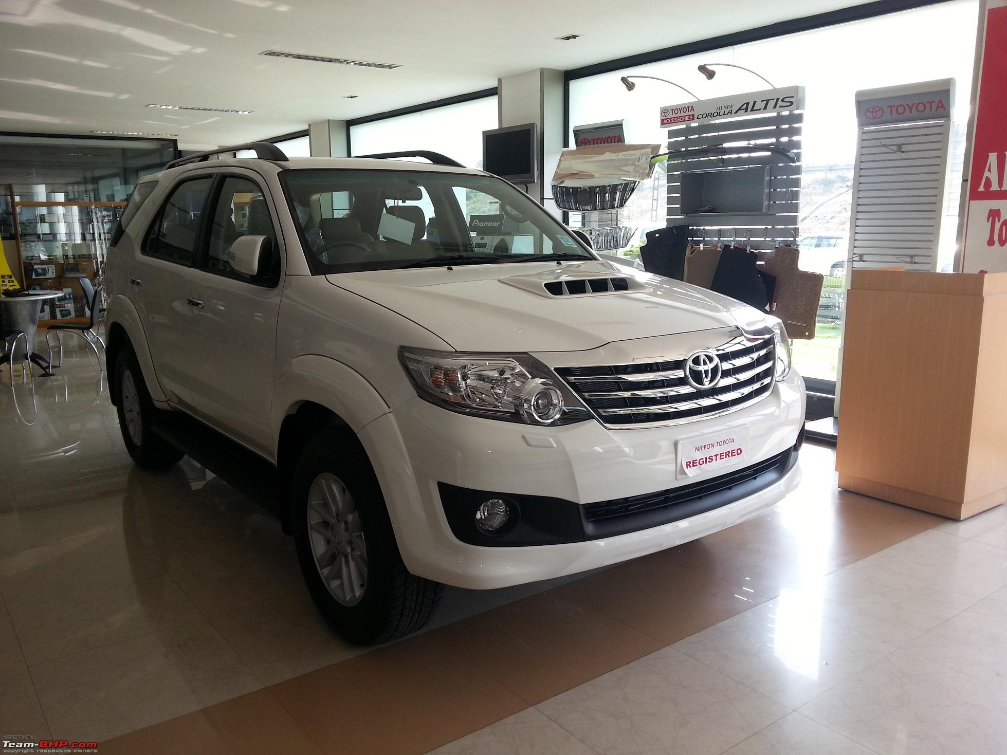 Kl 31 e x00x 2013 toyota fortuner the world is mine