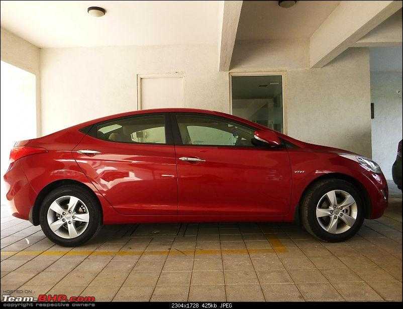 Lady In Red - Hyundai Elantra 1.8 SX (Petrol). Initial Ownership Report-p1000918.jpg