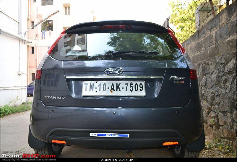 Ford Figo : The American lass who stole my heart & cash-rear.jpg