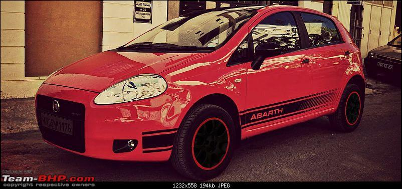 The Red Rocket - Fiat Grande Punto Sport. *UPDATE* Interiors now in Karlsson Leather-03.jpg