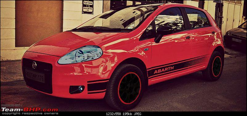 The Red Rocket - Fiat Grande Punto Sport. *UPDATE* Interiors now in Karlsson Leather-04.jpg
