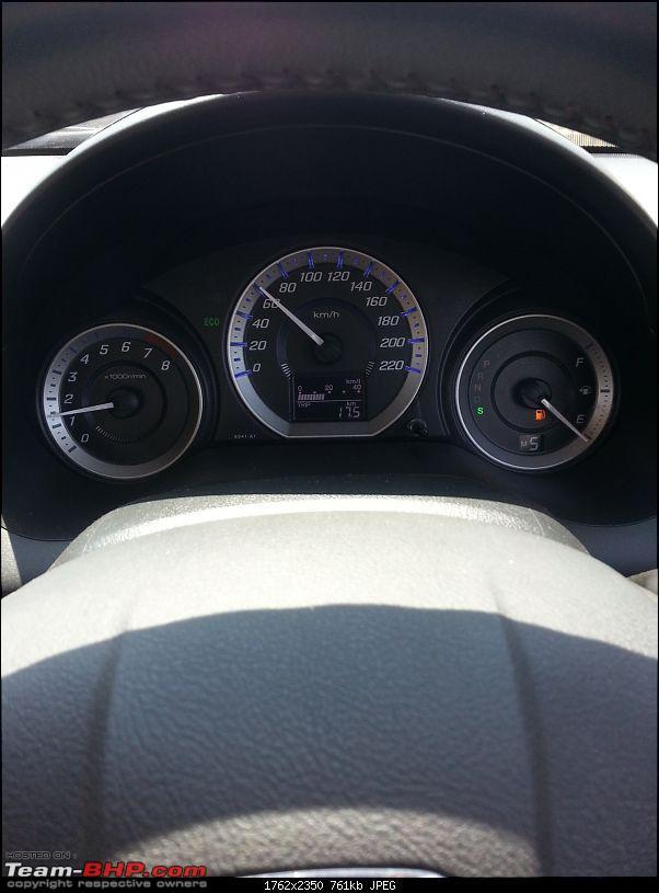 Honda City V-AT Sunroof. Fell in love, inspite the rising cost of petrol-20130409_113145.jpg