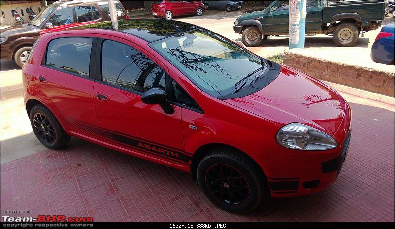 The Red Rocket - Fiat Grande Punto Sport. *UPDATE* Interiors now in Karlsson Leather-wp_20130511_003.jpg