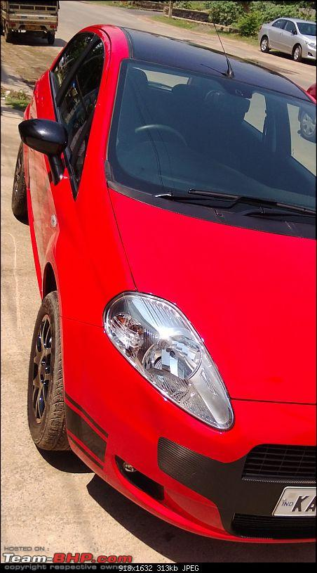 The Red Rocket - Fiat Grande Punto Sport. *UPDATE* Interiors now in Karlsson Leather-wp_20130511_019.jpg