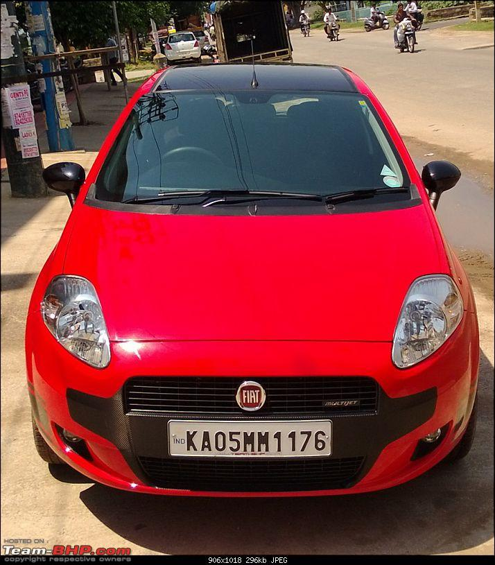 The Red Rocket - Fiat Grande Punto Sport. *UPDATE* Interiors now in Karlsson Leather-wp_20130511_020.jpg