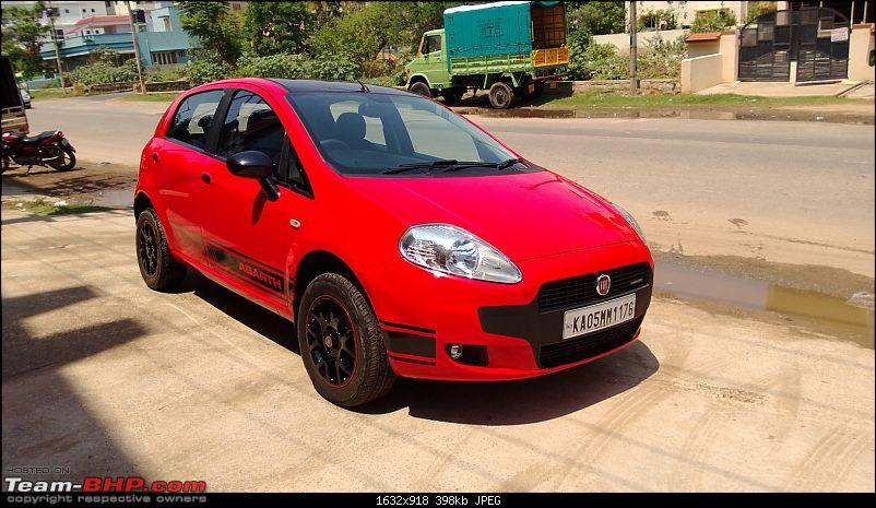 The Red Rocket - Fiat Grande Punto Sport. *UPDATE* Interiors now in Karlsson Leather-wp_20130511_006.jpg