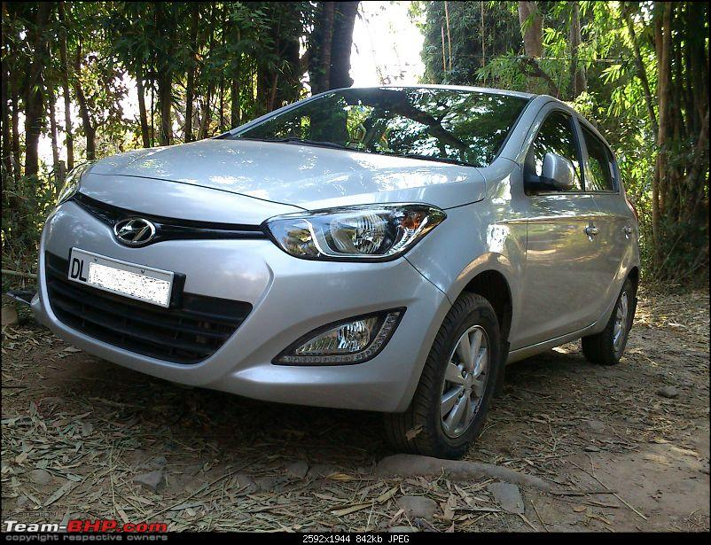 From SUV to Hatchback - What a feeling! Hyundai i20 CRDi Sportz-i20-side-front.jpg