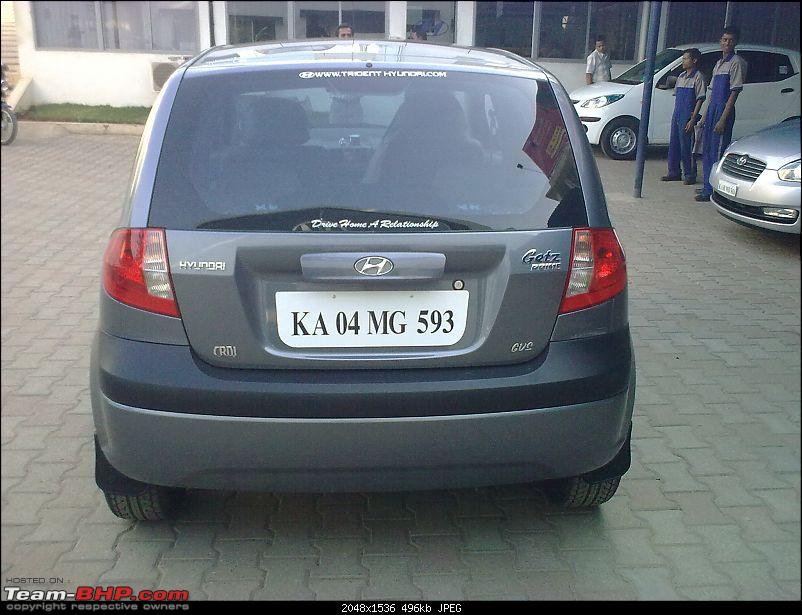 My Hyundai Getz Crdi Dark Grey Metallic Update 50 000