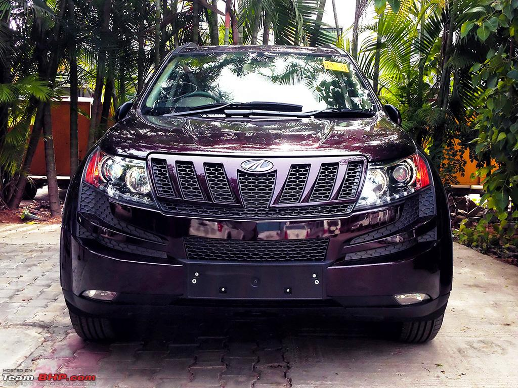 My Opulent Purple Mahindra Xuv500 W8 Fwd Going With The