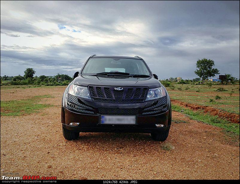 My Opulent Purple Mahindra XUV500 W8 FWD - Going with the heart-ffv.jpg
