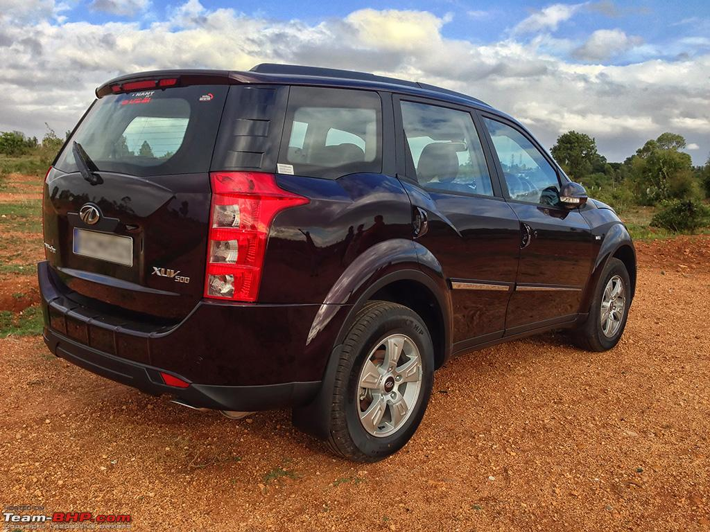 My Opulent Purple Mahindra Xuv500 W8 Fwd Going With The Heart