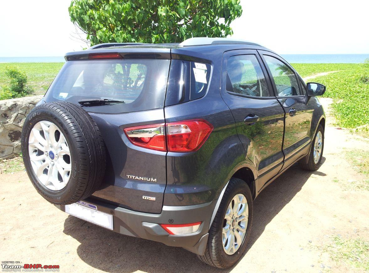 My Ford Ecosportsel Titanium O Sea Grey Capture