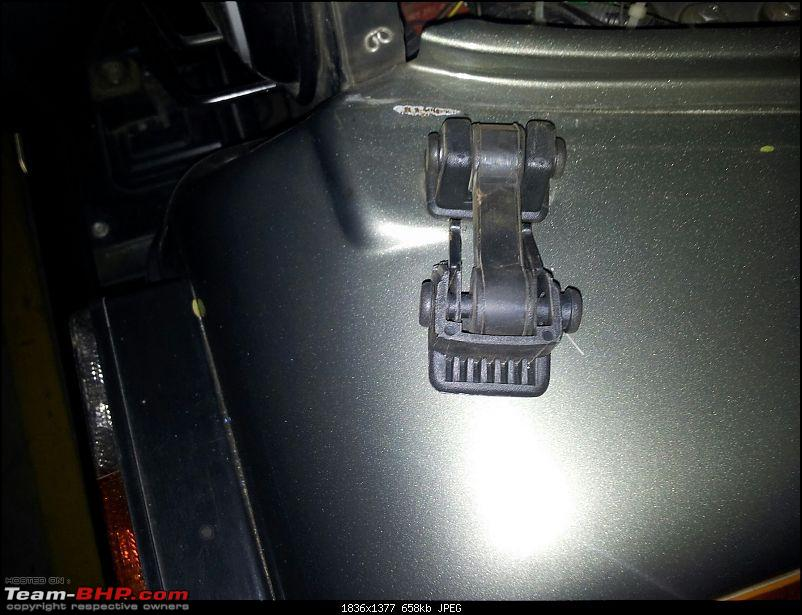 Call of the wild - Mahindra Thar CRDe-bonnet-latch-1.jpg