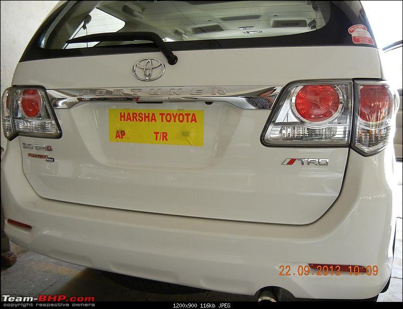 Got Fortune'd: White Toyota Fortuner-trd-rear-decal.jpg