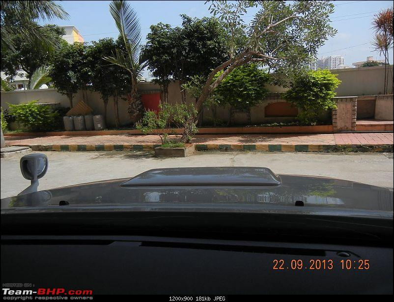 Got Fortune'd: White Toyota Fortuner-take-off-view.jpg