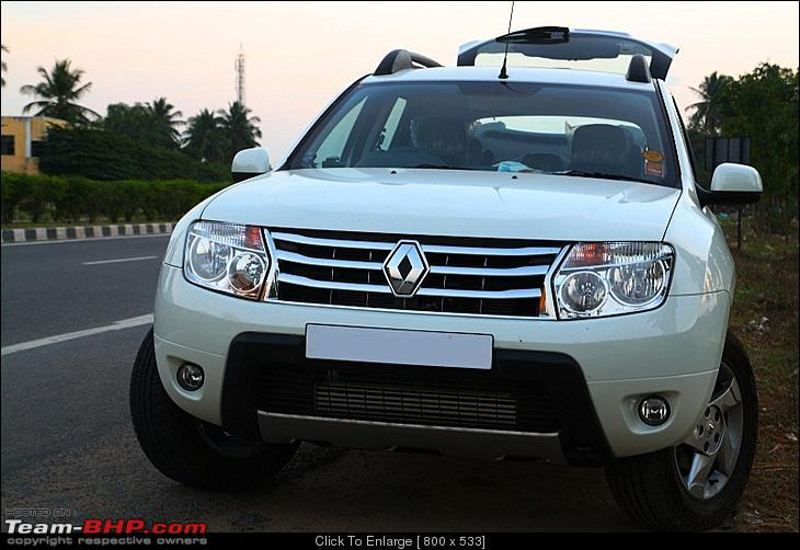 Renault Duster White Modified