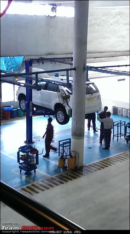 Got Fortune'd: White Toyota Fortuner-6-boss-lift.jpg