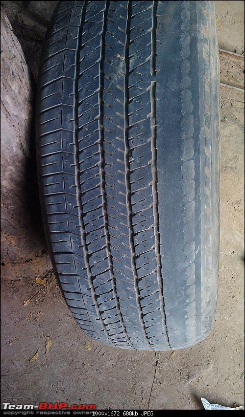 Tata Aria Pride 4x4: Owner's pain & frustration. EDIT: Saves 3 lives in an accident!-tyre.jpg