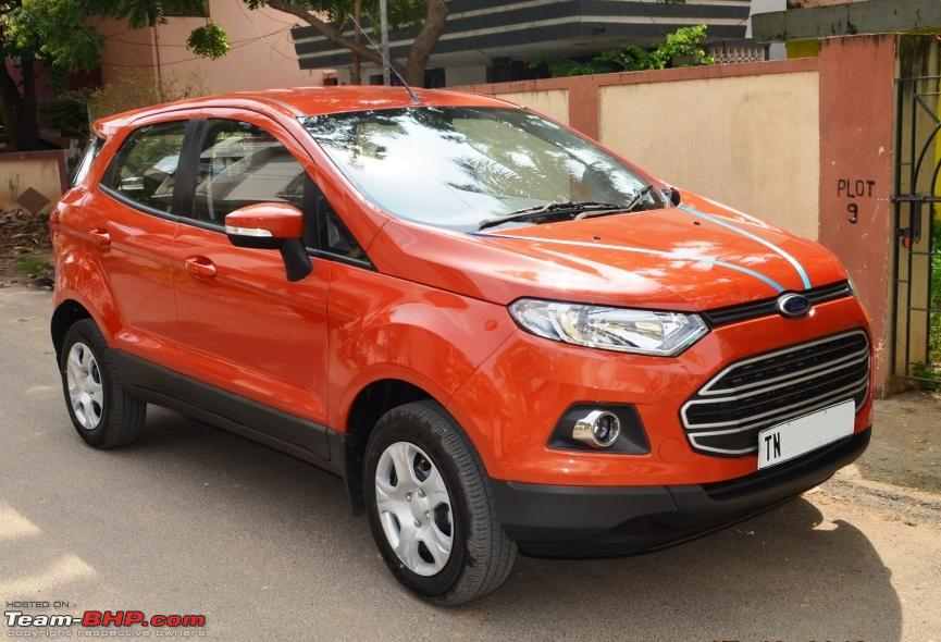 ford ecosport 1 5l diesel trend variant the machine i love team bhp. Black Bedroom Furniture Sets. Home Design Ideas