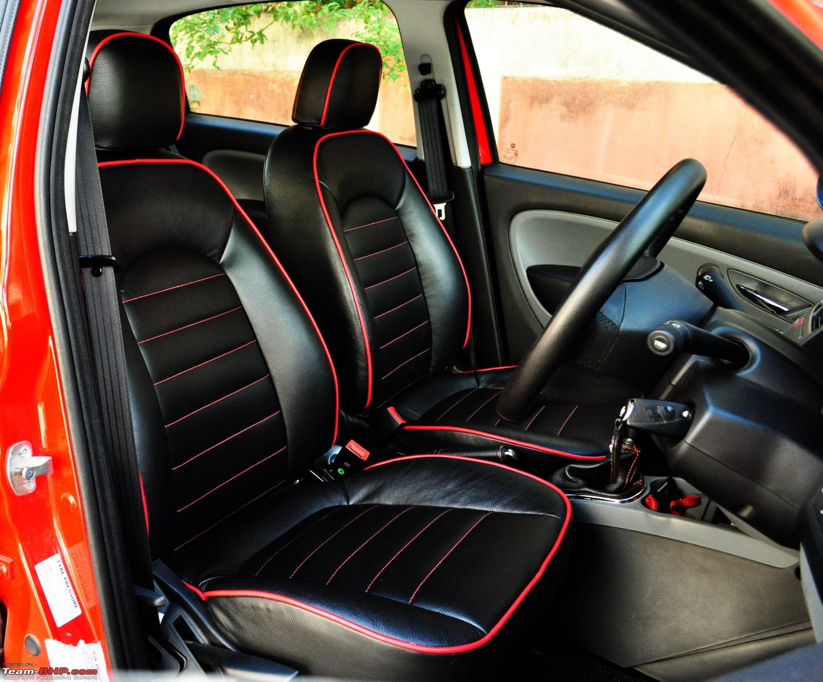 red and black seat covers velcromag. Black Bedroom Furniture Sets. Home Design Ideas