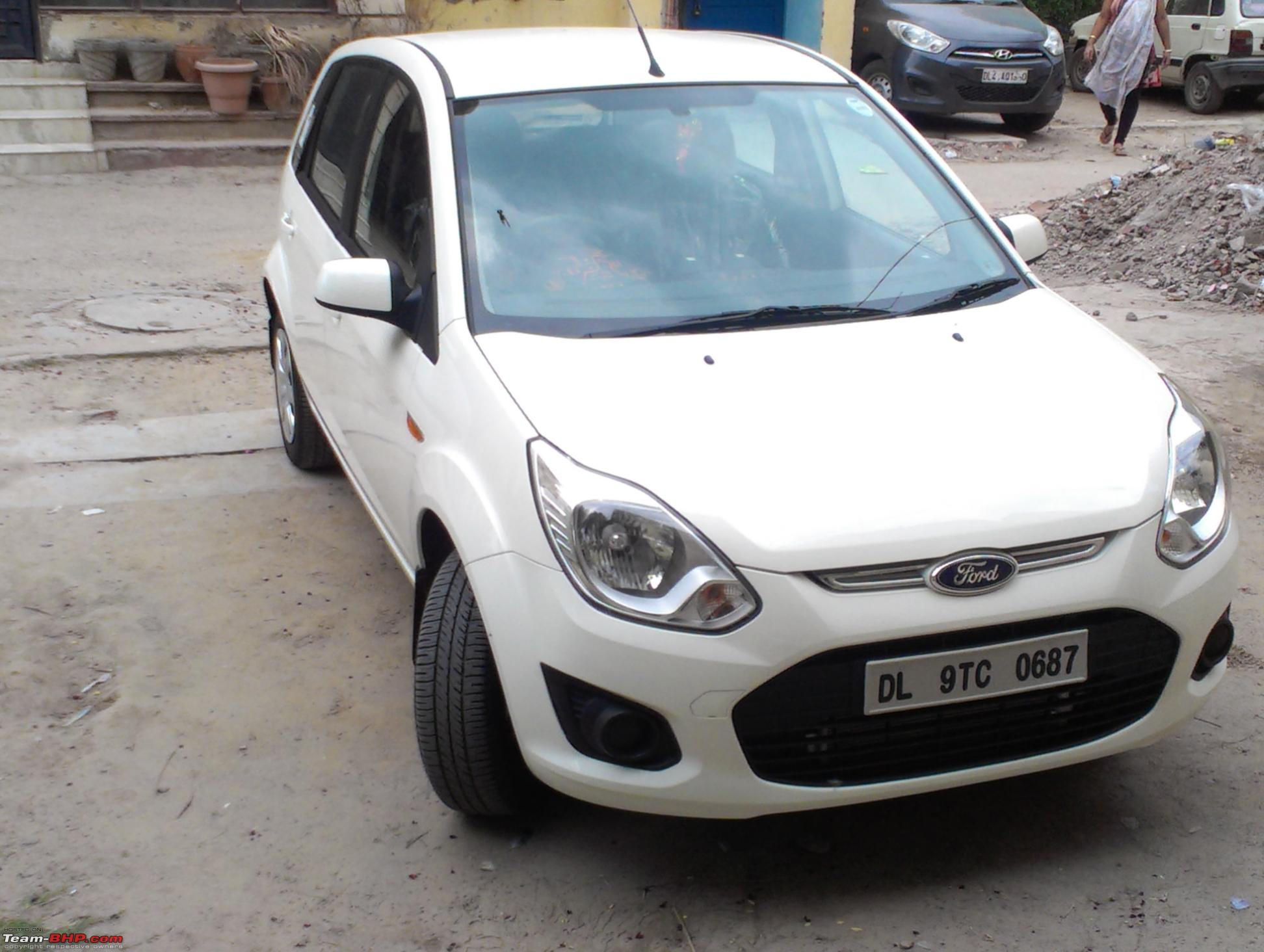 My 1st Diesel Diamond White Ford Figo ZXI Interior Pics On Pg 3