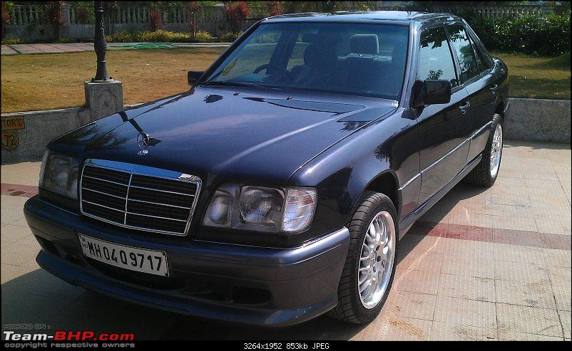 """Herr Kampfpanzer"" - The unfolding story of my Mercedes E220 (W124)-front-left-close.jpg"