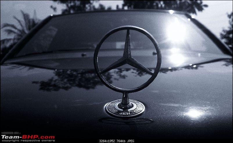"""Herr Kampfpanzer"" - The unfolding story of my Mercedes E220 (W124)-tri-star-bw.jpg"