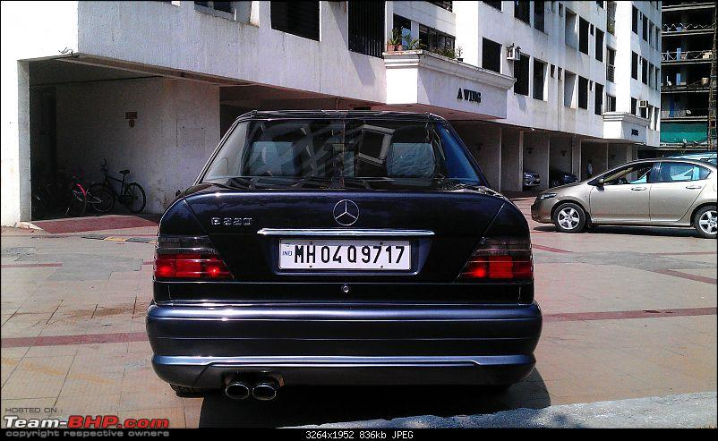"""Herr Kampfpanzer"" - The unfolding story of my Mercedes E220 (W124)-rear.jpg"