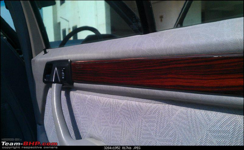 """Herr Kampfpanzer"" - The unfolding story of my Mercedes E220 (W124)-real-wood.jpg"