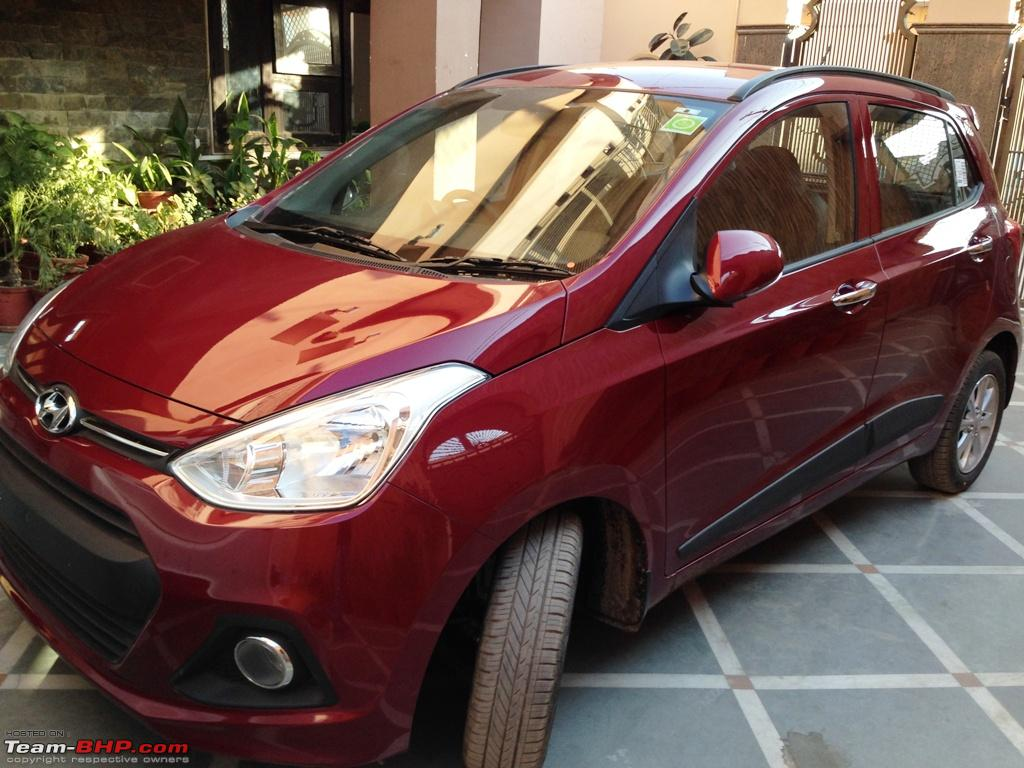 driving pleasure my first at hyundai grand i10 asta at wine red rh team bhp com Florida Drivers Manual Where to Get Drivers Manual