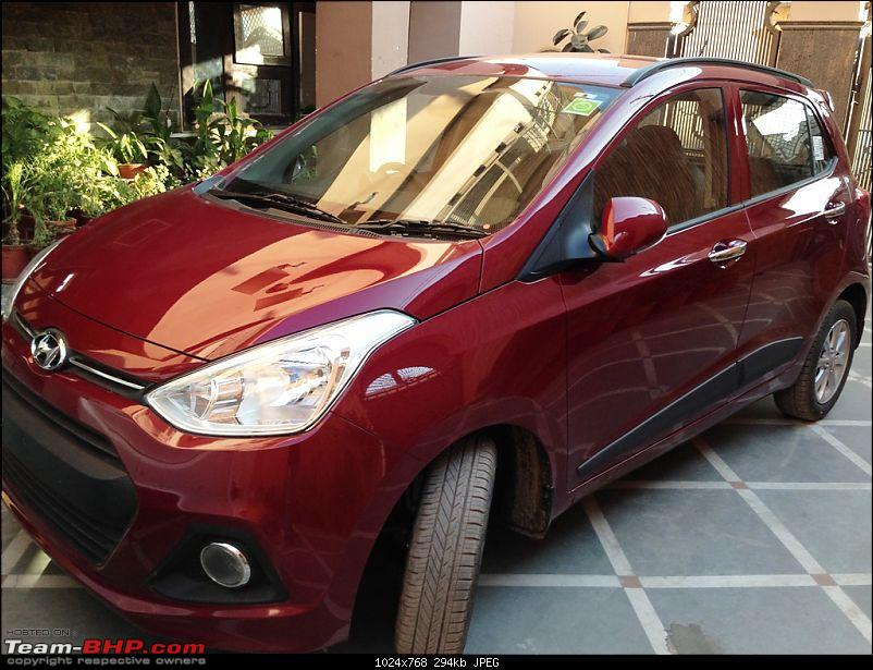 Driving Pleasure, My first AT - Hyundai Grand i10 Asta AT (Wine Red)-img_0396.jpg
