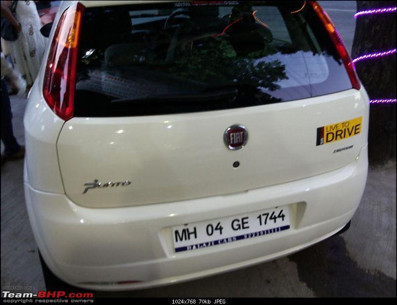 Petrolhead turns dieselhead - BNW Fiat Grande Punto Emotion comes home. EDIT: 62K km done in 5 years-20140111_180849.jpg