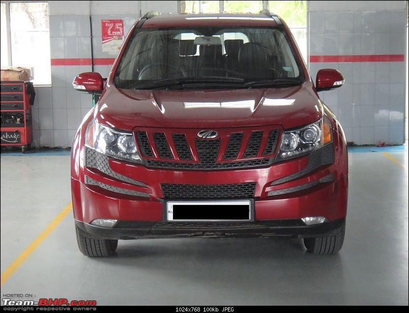 Sita, Red Mahindra XUV5OO W8 joins our Family. EDIT: 1 Year & 35,000 kms up-ose14.jpg