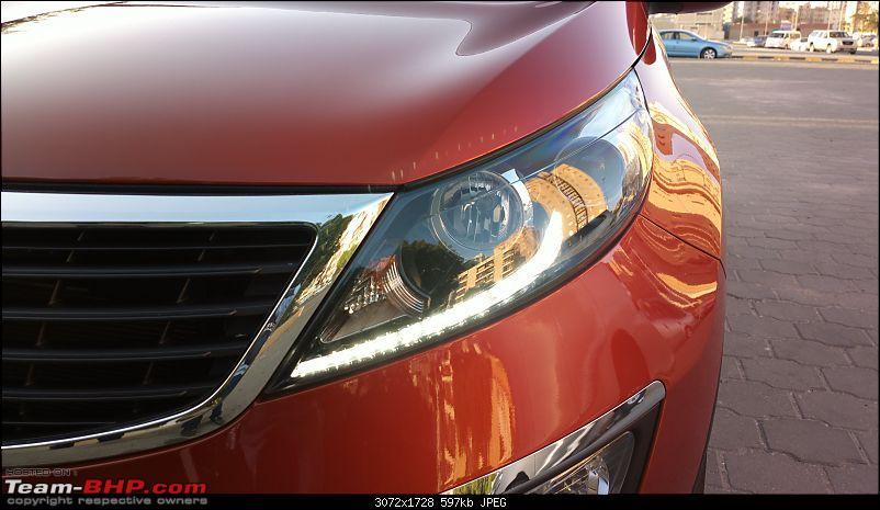 It's orange and it's sexy – My 2014 Kia Sportage-head-light-drl.jpg