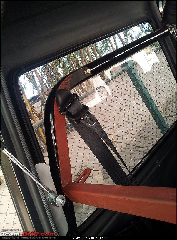 Call of the wild - Mahindra Thar CRDe-rear-bracket-attachment-sa-rollover-cage.jpg