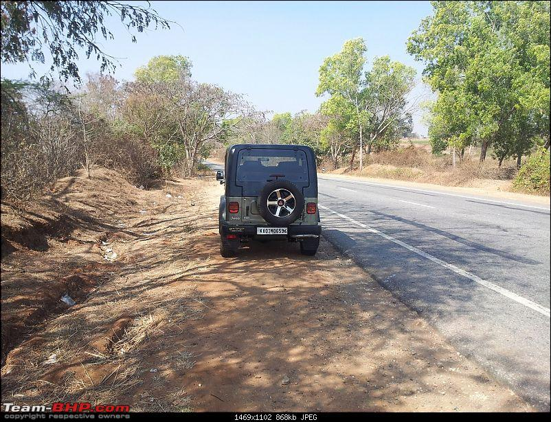 Call of the wild - Mahindra Thar CRDe-pit-stop.jpg