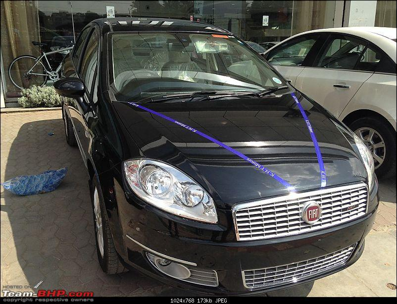 The Perfect Gift � Hip Hop Black Fiat Linea T-Jet. EDIT: 1,000 kms up-img_1511.jpg