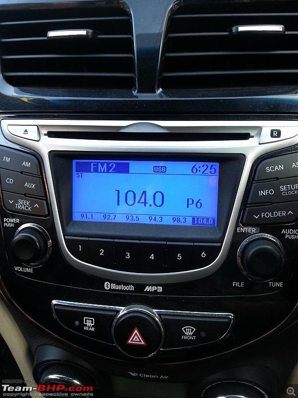 Hyundai Verna Fluidic SX 1.6L Diesel: The Street Hawk-music-system-7.jpg