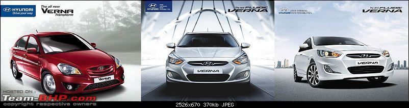 Hyundai Verna Fluidic SX 1.6L Diesel: The Street Hawk-evolution-verna.jpg