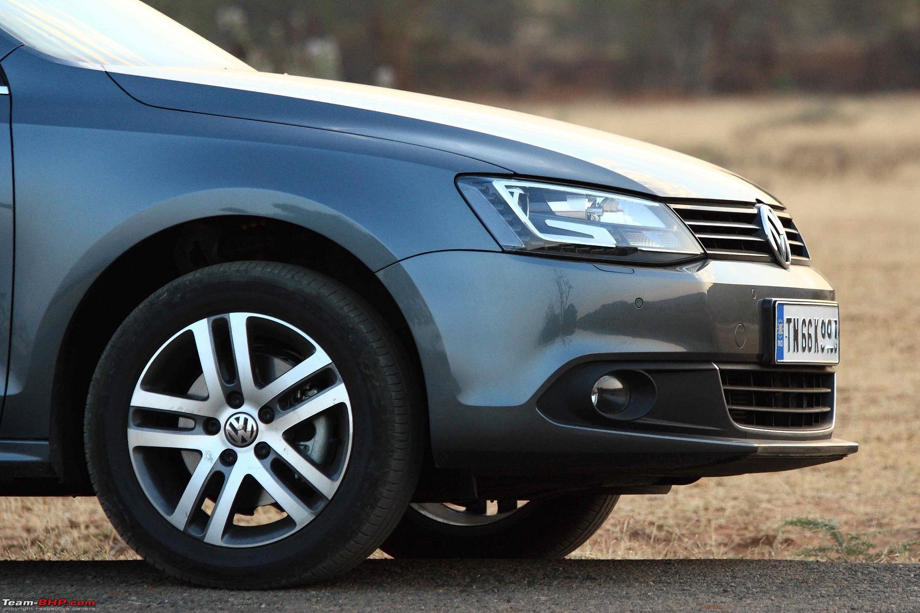Platinum Grey VW Jetta 2.0 TDI Highline DSG comes home - Team-BHP
