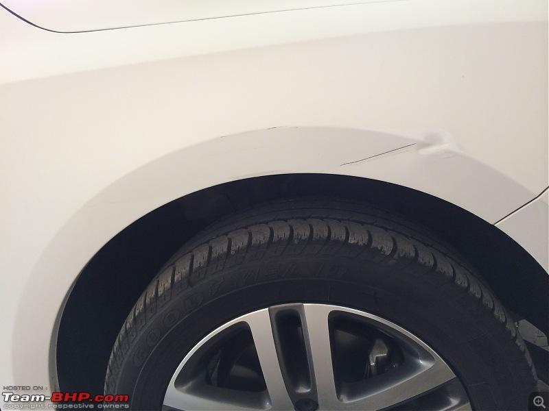 Platinum Grey VW Jetta 2.0 TDI Highline DSG comes home EDIT: Sold!-4-rhs-fender-post-wash.jpg