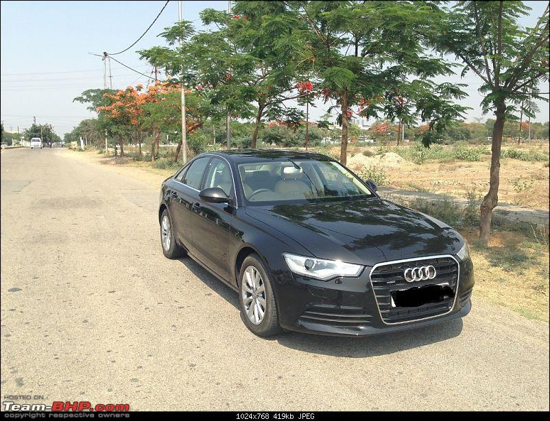 My Audi A6 3 0 Tdi V6 Quattro Mystique Black Beauty