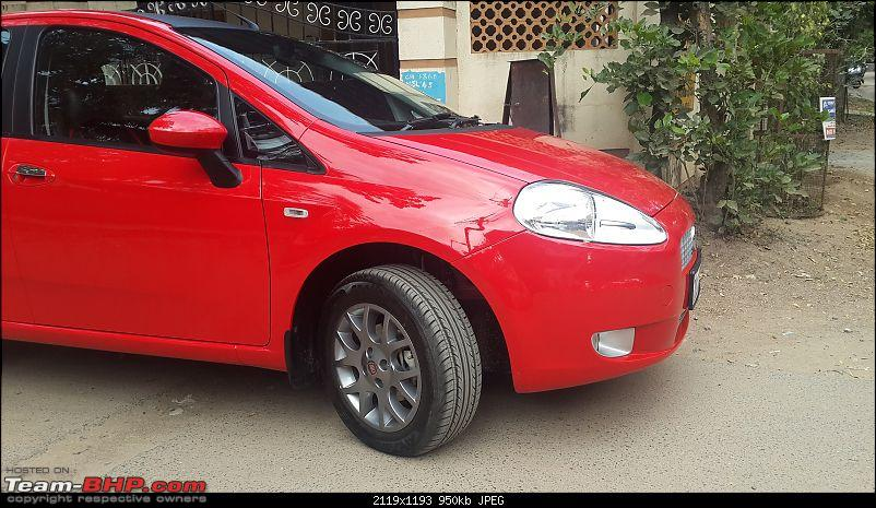 From a chipped Figo to a Punto 90!-20140215_135727.jpg